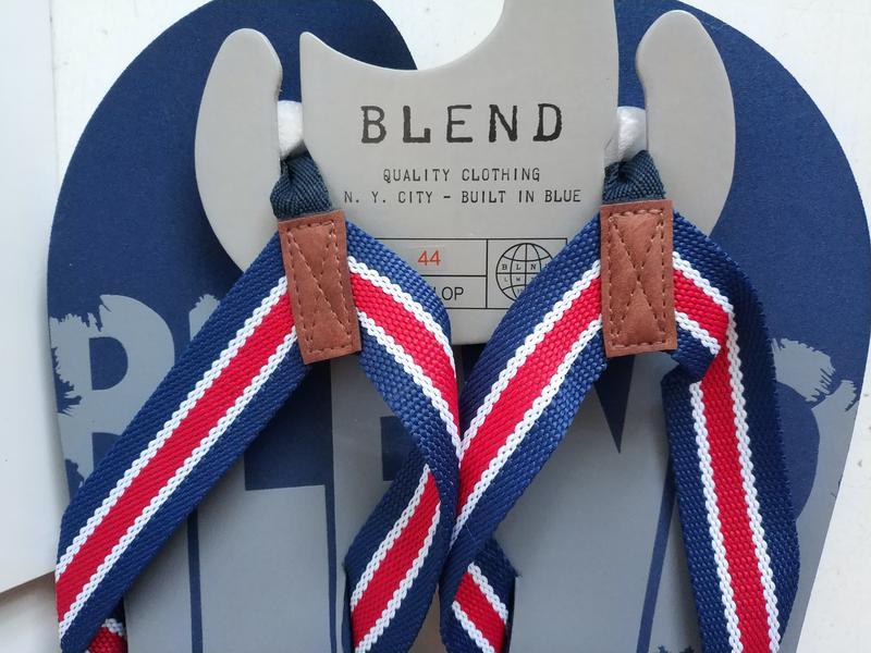 Мужские вьетнамки датского бренда blend, 44 - Фото 8