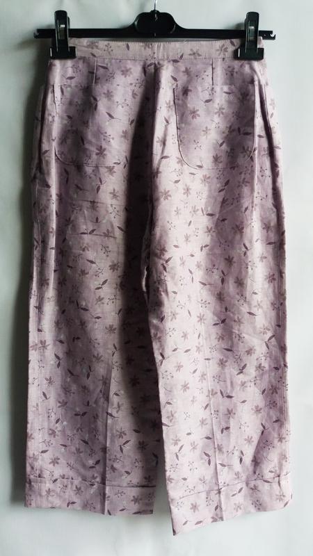 Распродажа! льняные капри бриджи enrique vals collection, франция - Фото 3