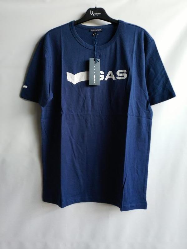 Мужская футболка итальянского premium бренда gas, s, l