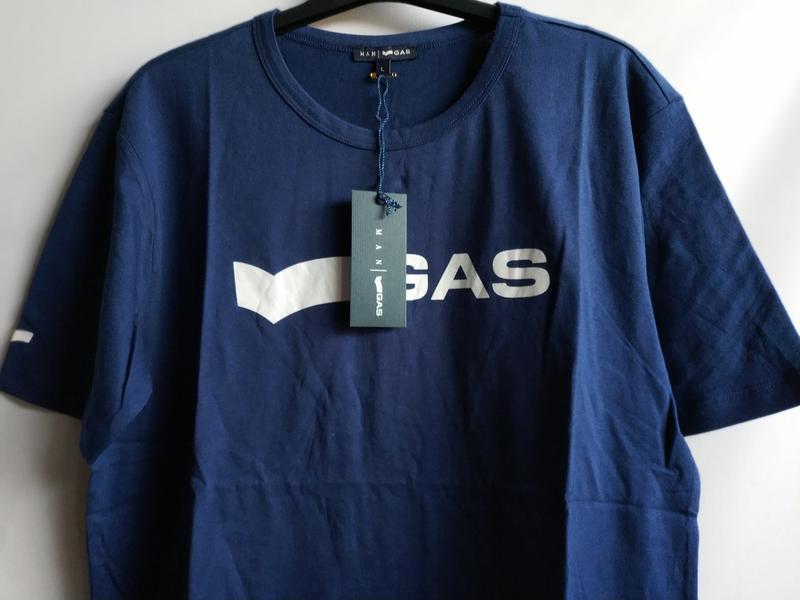 Мужская футболка итальянского premium бренда gas, s, l - Фото 2