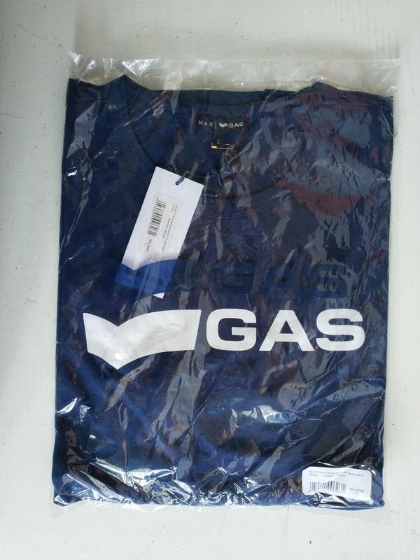 Мужская футболка итальянского premium бренда gas, s, l - Фото 4