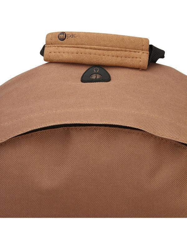 Рюкзак унисекс английского бренда mi-pac classic mocha 740001 a13 - Фото 7