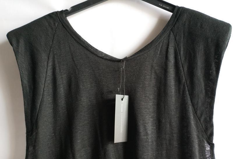 Распродажа!  льняной женский топ майка  датского бренда moss c... - Фото 4