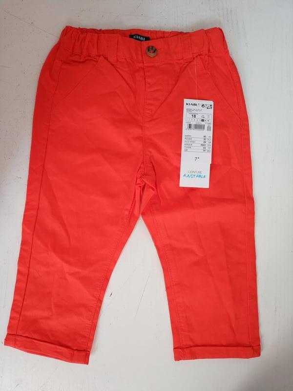 Штаны  на малыша   французского бренда kiabi, 6 18 мес