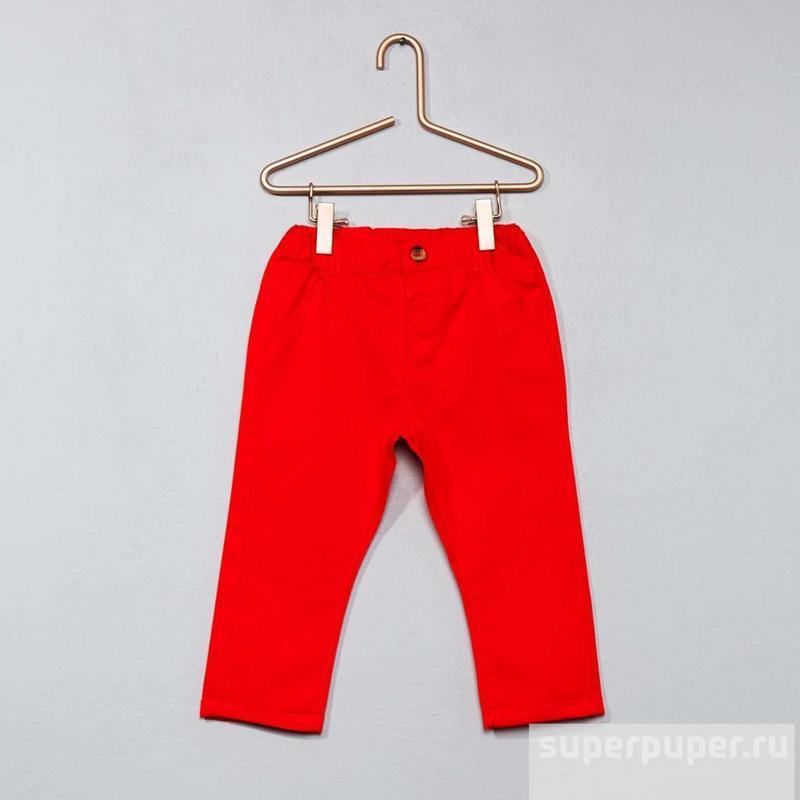 Штаны  на малыша   французского бренда kiabi, 6 18 мес - Фото 2
