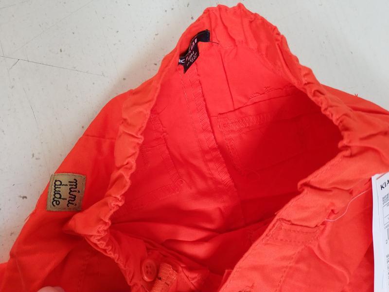 Штаны  на малыша   французского бренда kiabi, 6 18 мес - Фото 4
