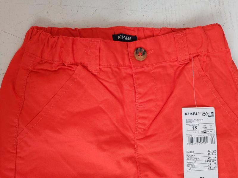 Штаны  на малыша   французского бренда kiabi, 6 18 мес - Фото 5