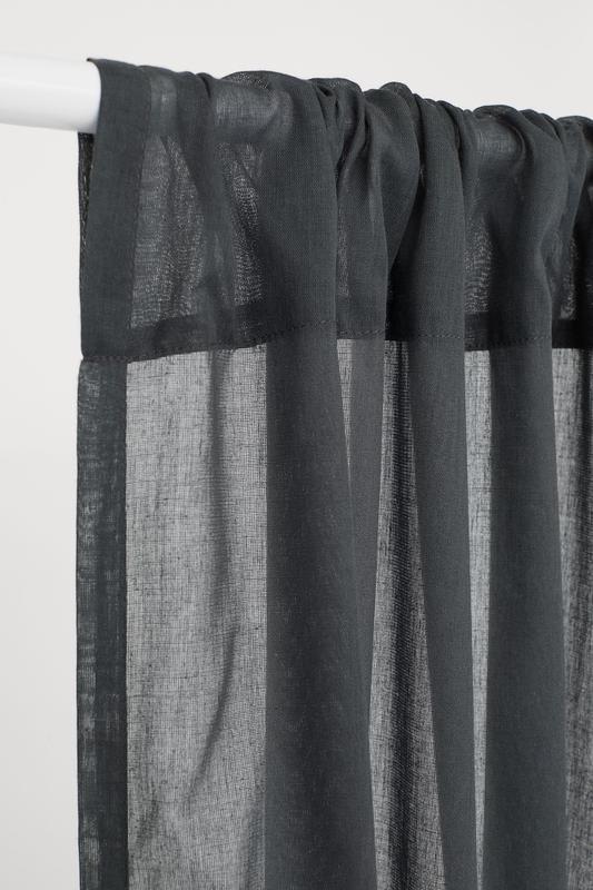 Штора из хлопка и полиэстера 120 на 250 шведского бренда h&m - Фото 2