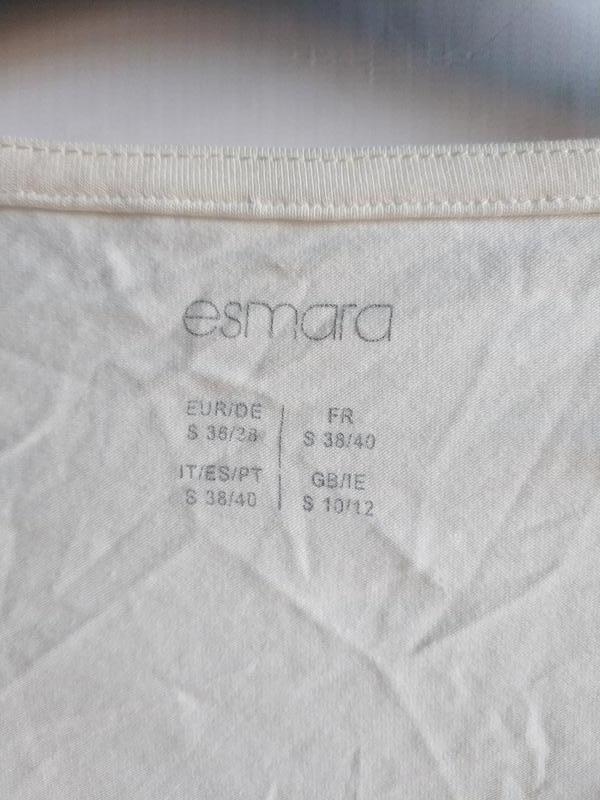 Женский лонгслив лодочка хлопок немецкого бренда esmara by lid... - Фото 7