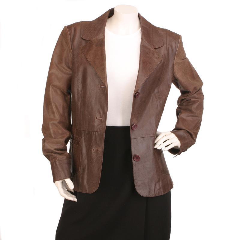 Laura Ashley кожаный пиджак 100% натуральная кожа стильный жакет