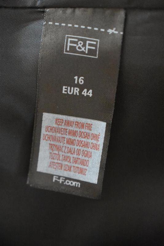 Элегантное платье-футляр с принтом f&f - Фото 4