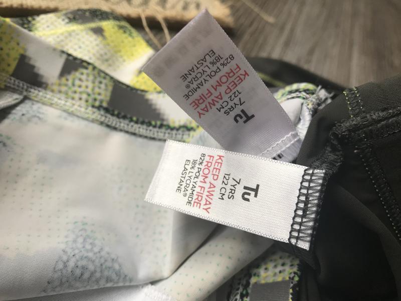 Плавки шорты для купания tu 6-7л - Фото 3