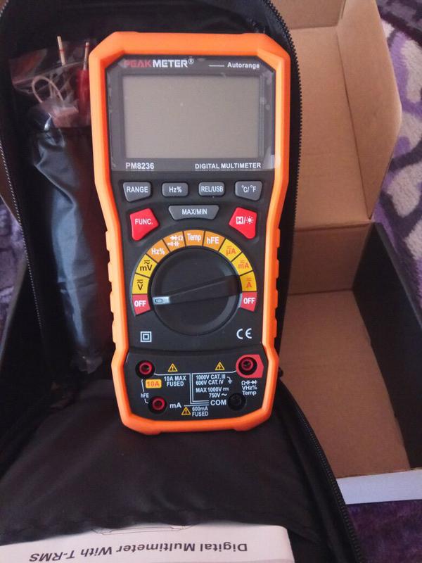 Мультиметр PM8236