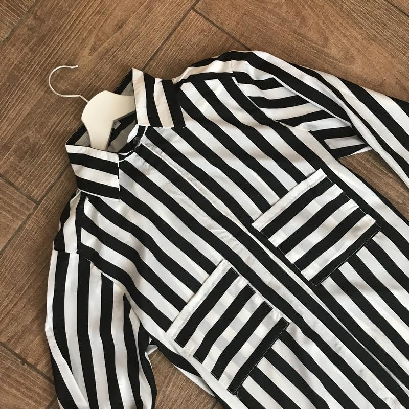Рубашка в полоску/размер с,м,л! - Фото 2