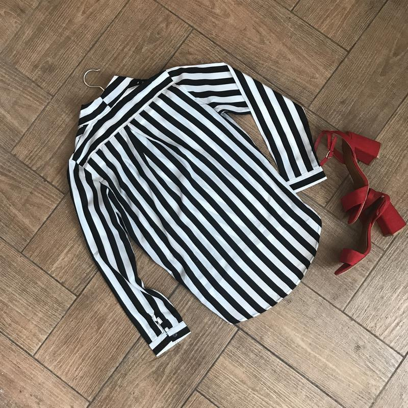 Рубашка в полоску/размер с,м,л! - Фото 3
