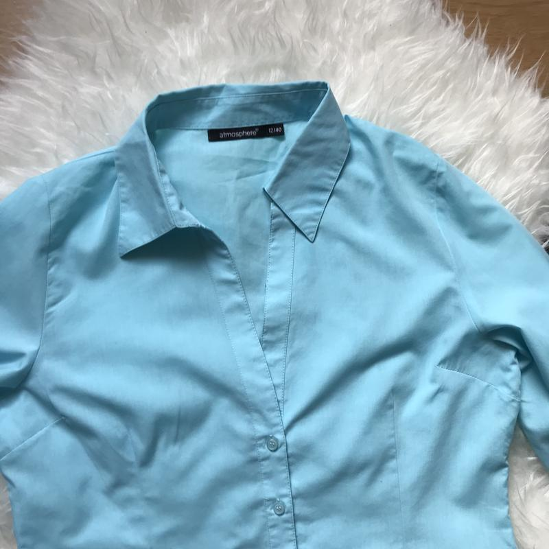 Рубашка блуза красивая - Фото 2