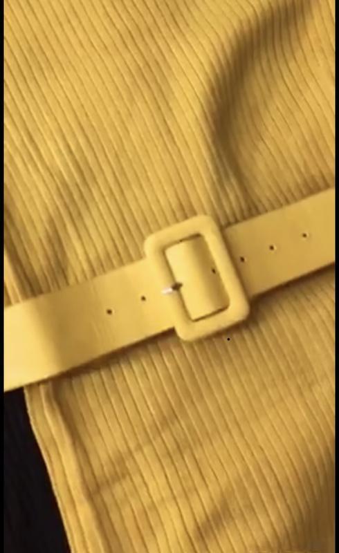 Платье с поясом в комплекте - Фото 3