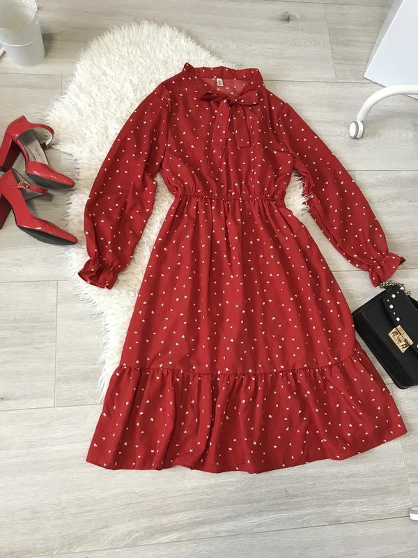 Очень крутое красное платье - Фото 3