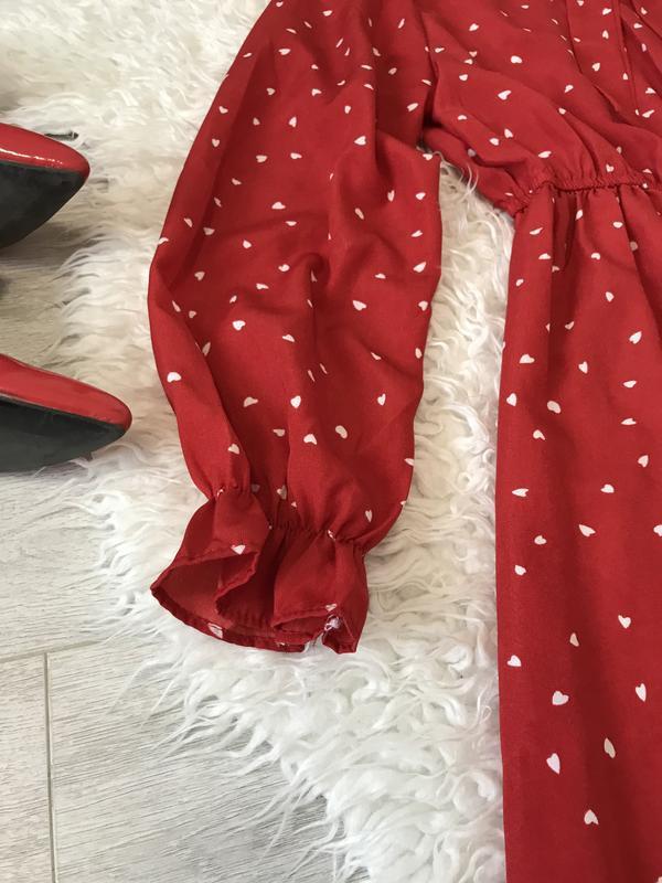 Очень крутое красное платье - Фото 5