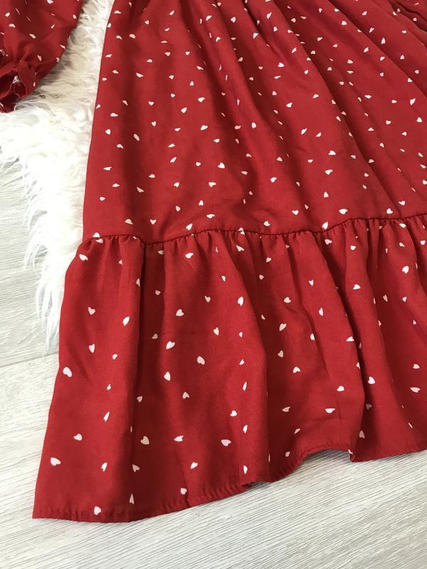 Очень крутое красное платье - Фото 7