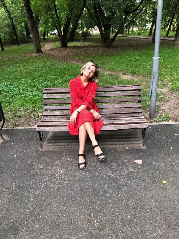 Очень крутое красное платье - Фото 10