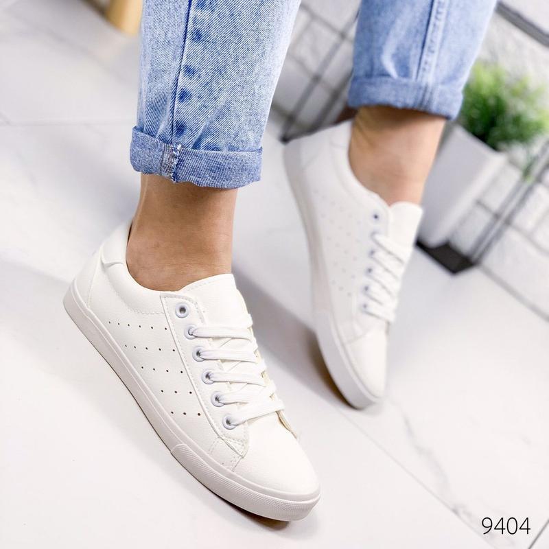 🔥стильные женские кеды мокасины кроссовки 🔥 - Фото 2