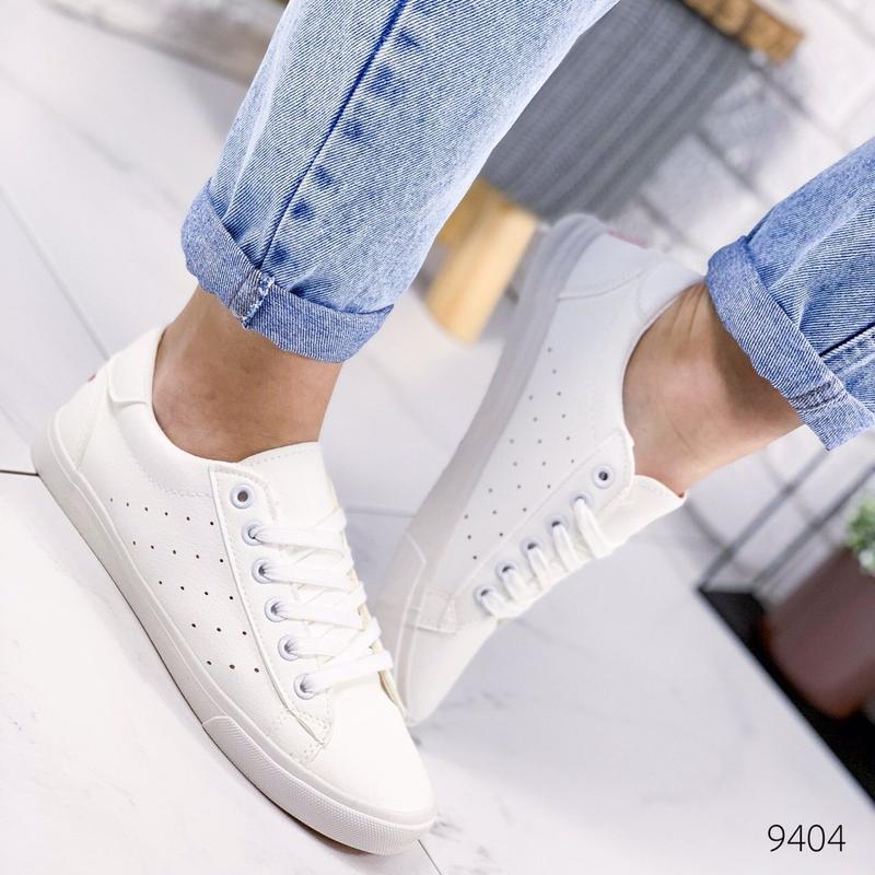 🔥стильные женские кеды мокасины кроссовки 🔥 - Фото 4
