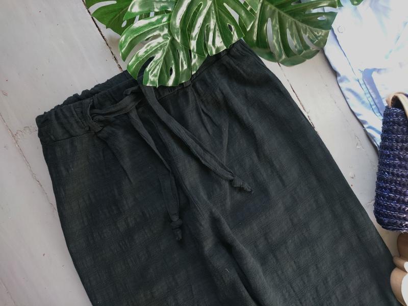 Актуальные летние легкие брюки кюлоты №259 - Фото 2