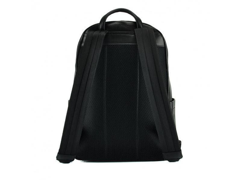 """Рюкзак кожаный мужской для ноутбука 13"""" 14"""" стильный модный ан... - Фото 2"""