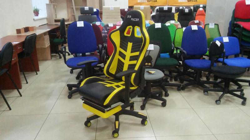 Кресло racer Рейсер с подставкой - Фото 3