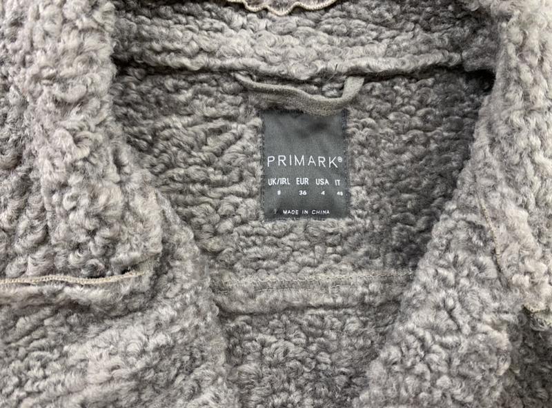 Красивая дубленка с поясом primark - Фото 8