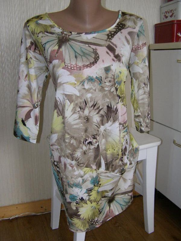 Sarah allisons платье туника m-размер. оригинал. италия