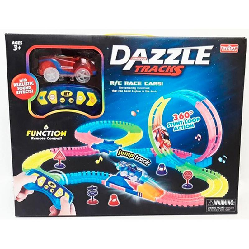 Конструктор Dazzle Tracks 187 деталей 425 см на РУ