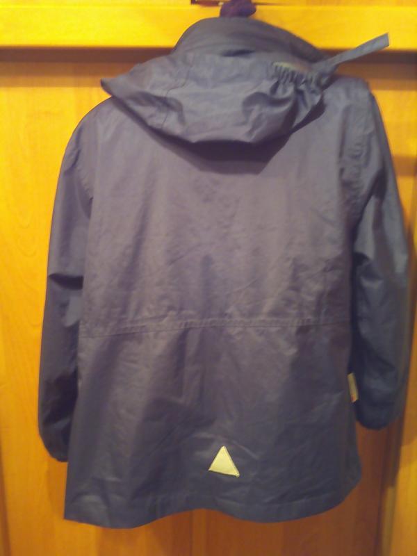 Куртка , 2-х сторонняя, внутри флис.  result. 9. - Фото 3
