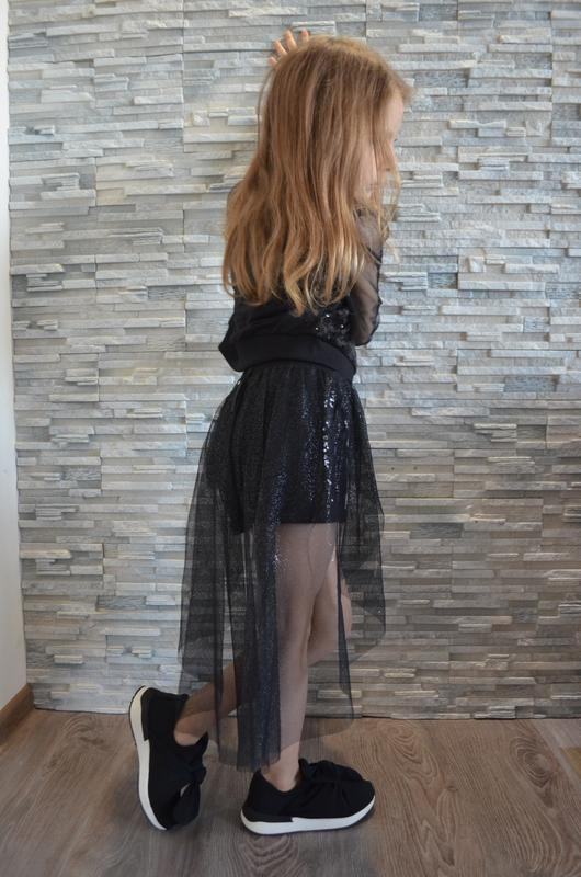 Шикарный нарядный праздничный костюм набор на девочку - Фото 2