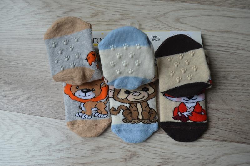 Детские махровые носочки унисекс турецкой фирмы bross - Фото 2