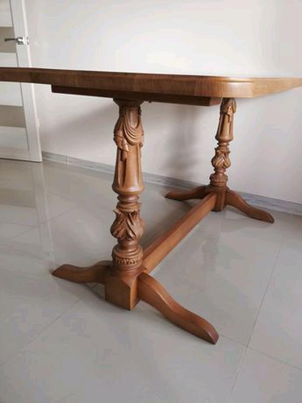 Продам стіл дуб масив та 6 стільців бук масив - Фото 3