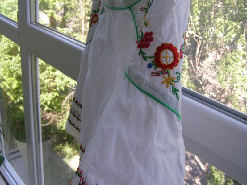 Atmosphere юбка в украинском стиле вышиванка 36-размер
