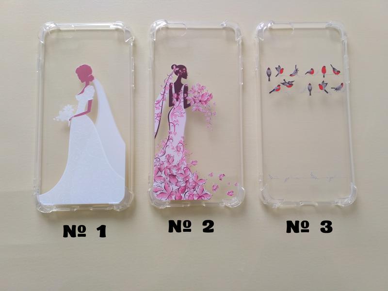 Бампер Чехол на iPhone 6 plus Невесты,Птички