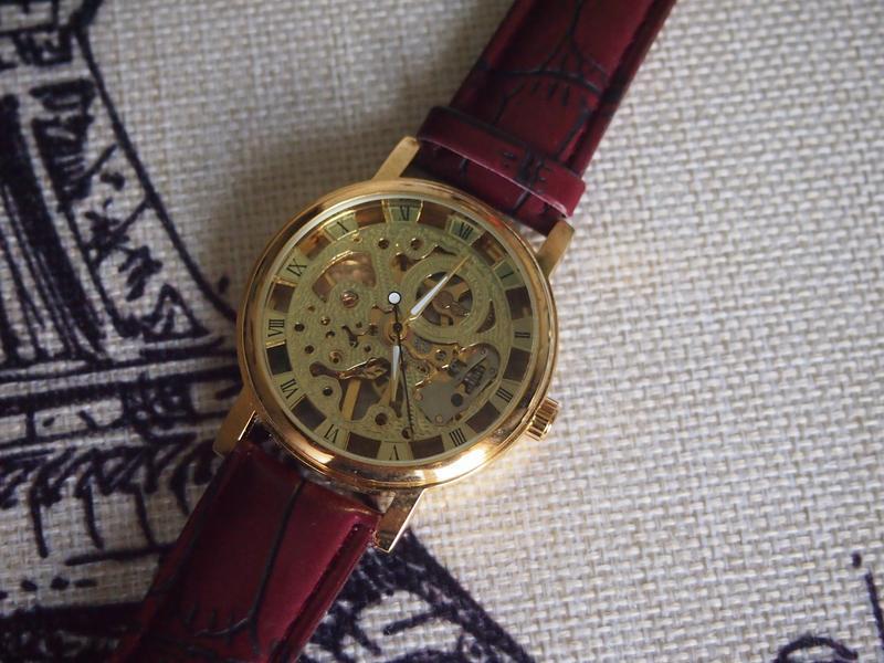 Часы winner gold - Фото 3