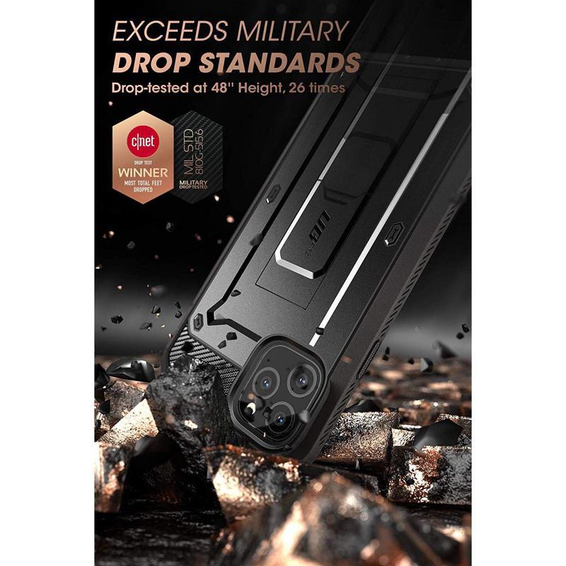 Чехол Supcase Unicorn Beetle Pro для iPhone 11 Pro Max  Black - Фото 2