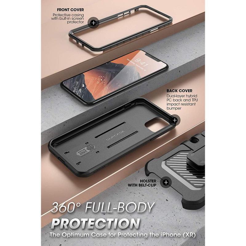 Чехол Supcase Unicorn Beetle Pro для iPhone 11 Pro Max  Black - Фото 4