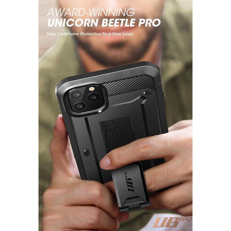 Чехол Supcase Unicorn Beetle Pro для iPhone 11 Pro Max  Black - Фото 8