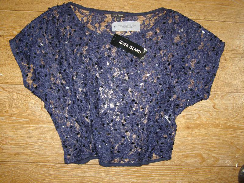 River island блуза, накидка на платье 16-размер