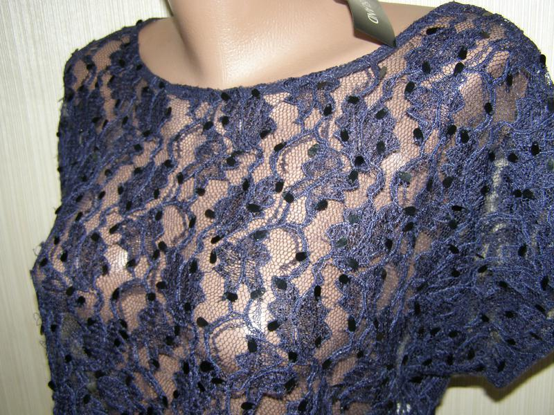 River island блуза, накидка на платье 16-размер - Фото 5