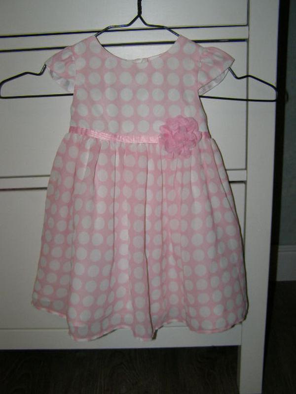 Jasper conran платье для маленькой принцессы 9-12 мес