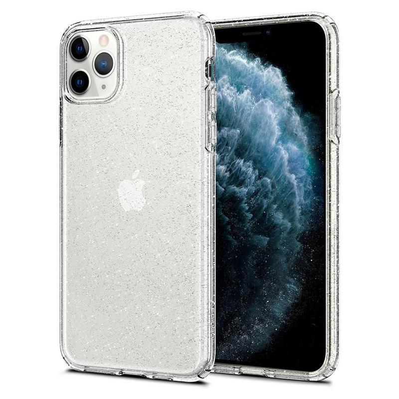 Чехол Spigen Liquid Crystal Glitter для iPhone 11 Pro Max Crystal - Фото 2
