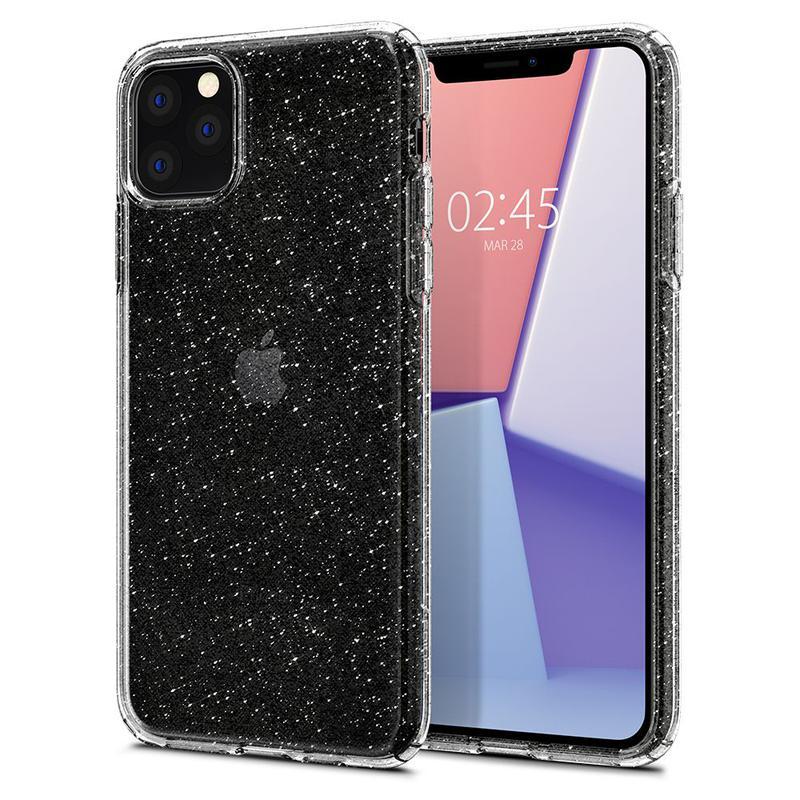 Чехол Spigen Liquid Crystal Glitter для iPhone 11 Pro Max Crystal - Фото 3