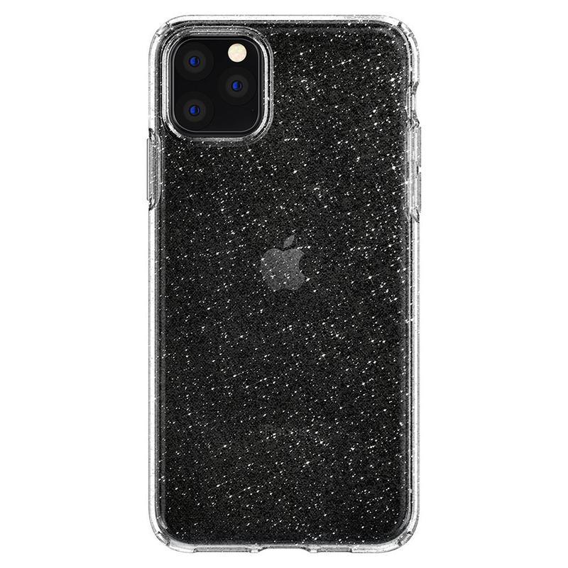 Чехол Spigen Liquid Crystal Glitter для iPhone 11 Pro Max Crystal - Фото 4