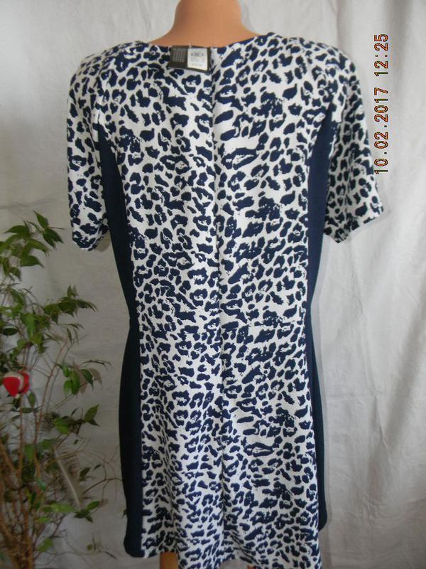 Платье новое осеннее с принтом - Фото 2